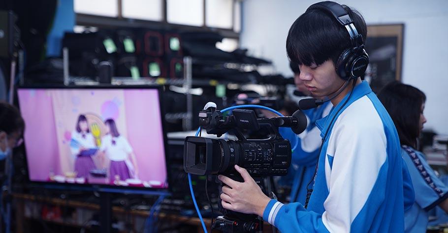 孩子整天拍片、上傳,忙個不停?學好專業,他也可以用拍攝啟動未來!