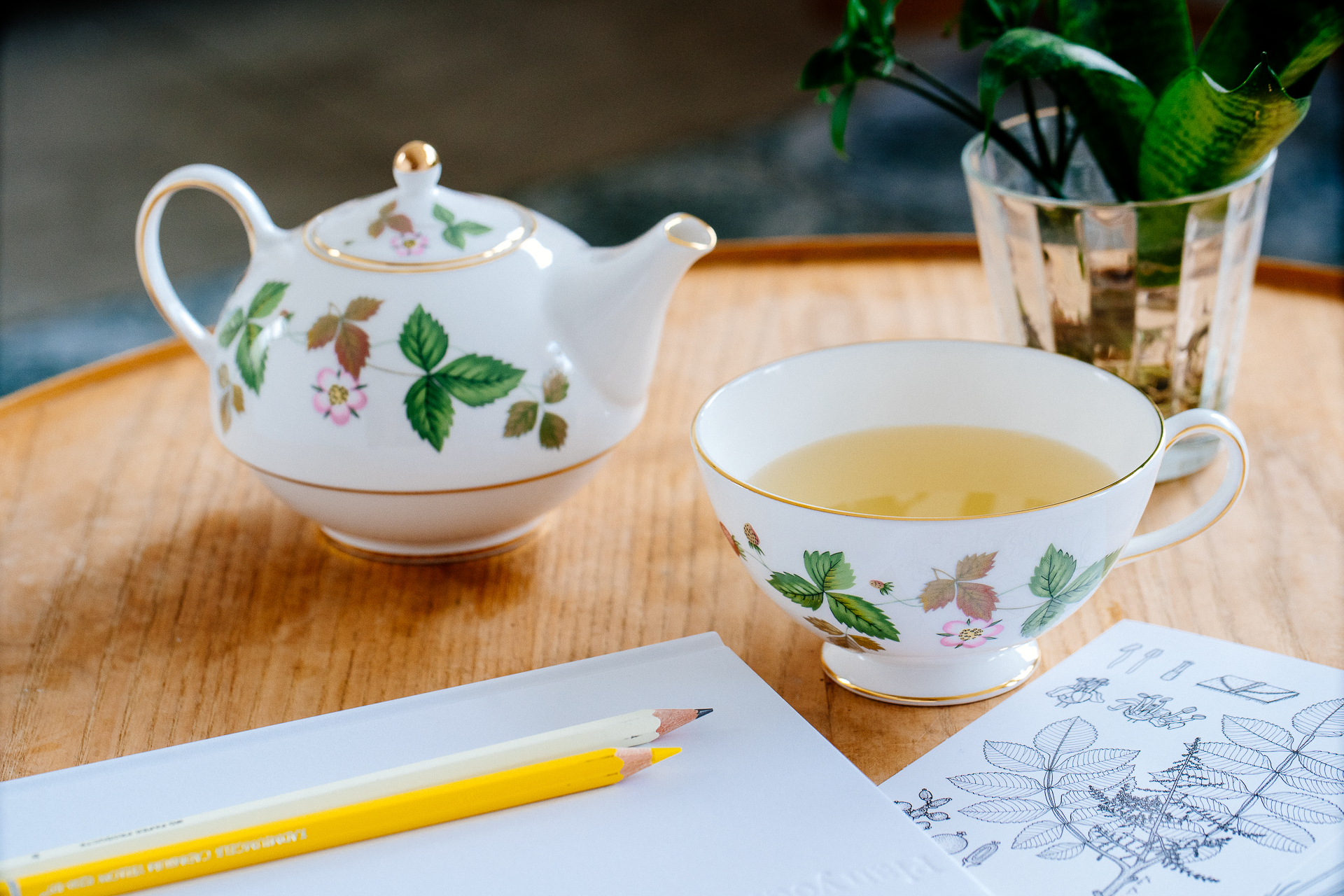 Wedgwood|野草莓獨享茶具組