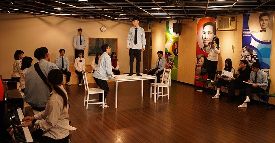 投入戲劇科,說一個好故事,培養一生受用的能力