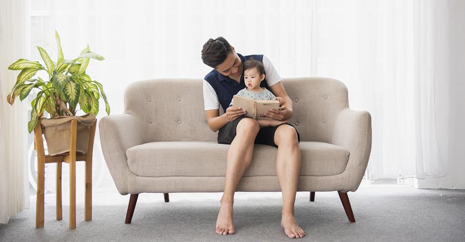 親子共讀,不只是一個閱讀的過程,更是一個陪伴的過程,讓父母從中傳遞給孩子的愛