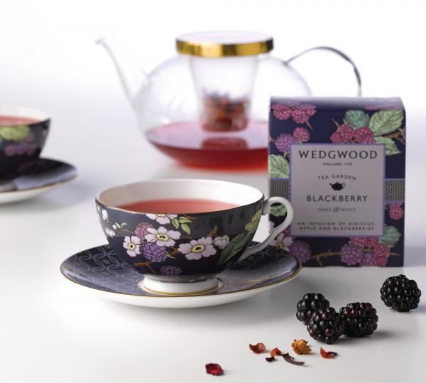 Wedgwood|茶之花園午茶三件組_黑莓