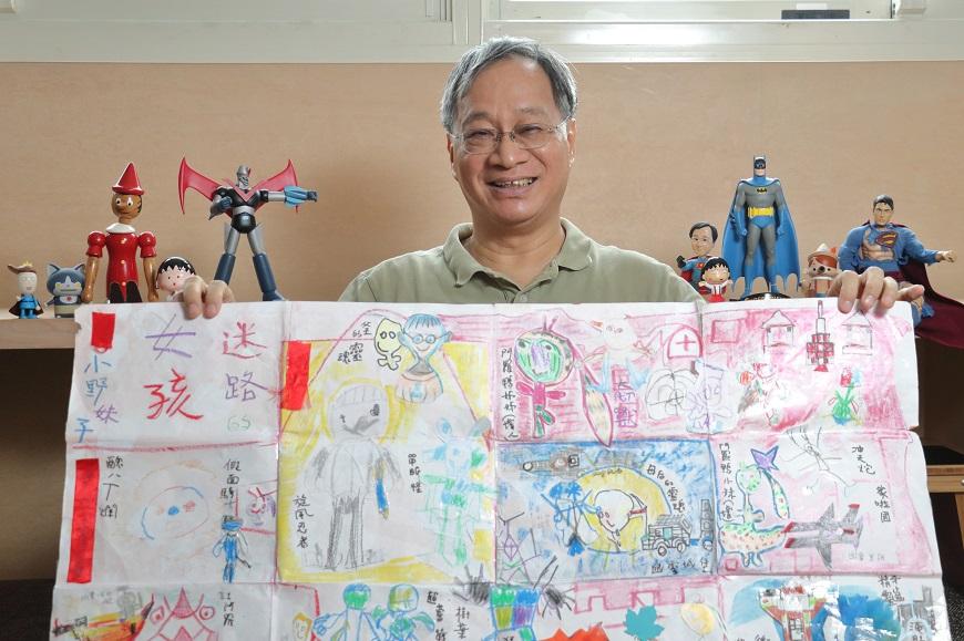 68歲當阿公!小野:孫子不是為了傳宗接代,是讓我們重新學會溫柔