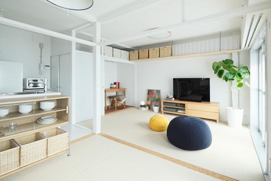 陰暗老舊的老房子,如何改造為明亮舒適的MUJI風住宅?