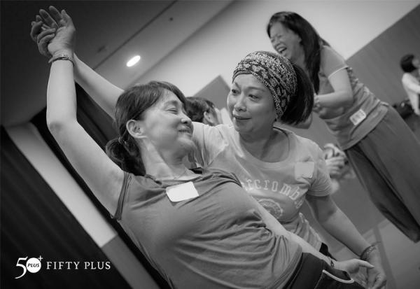 【50+學院x兩廳院樂齡計畫】玩舞工作坊 活動花絮