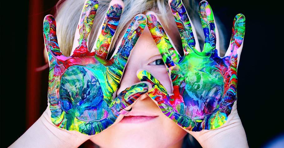 當我們給孩子的學習打破了固有觀念的框架,妳將會看到孩子豐富驚人的創造力