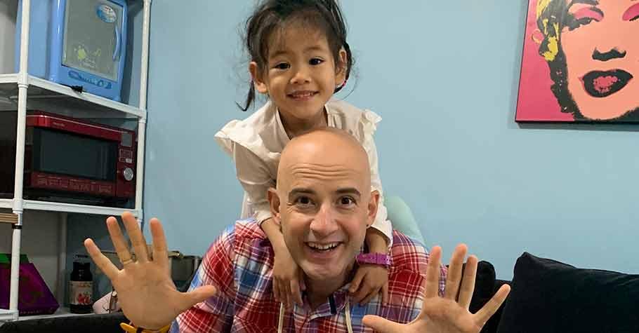 你是否曾問過自己:我想要教養怎麼樣的孩子?吳鳳:我的第一個目標是讓女兒懂什麼是「快樂」