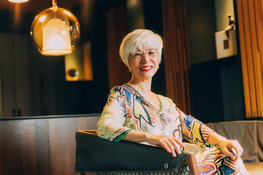 50後如何活得優雅?陳碧涵:白髮看起來美,是歲月醞釀了好感度
