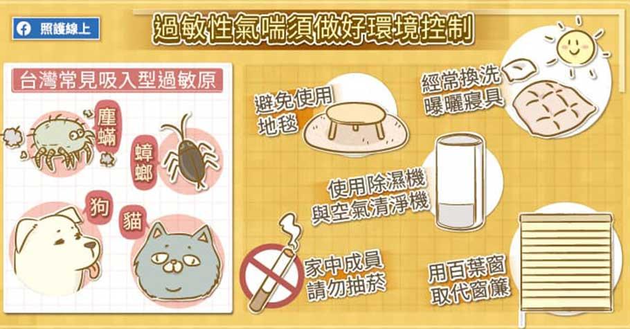孩子容易咳?8成以上氣喘兒同時有過敏性鼻炎,孩子出現這4個症狀,可能是氣喘了!