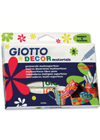 【義大利 GIOTTO】裝飾筆(6色)
