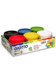 【義大利GIOTTO】幼兒安全手指膏(6色)200ml