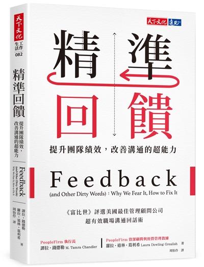 精準回饋:提升團隊績效,改善溝通的超能力